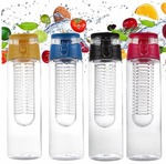Flat 30%: Fruit infucer water bottle